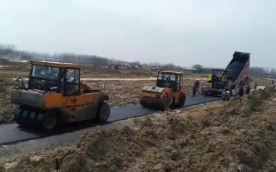 三一路机成套养护设备服务三农,品质铺就民心工程